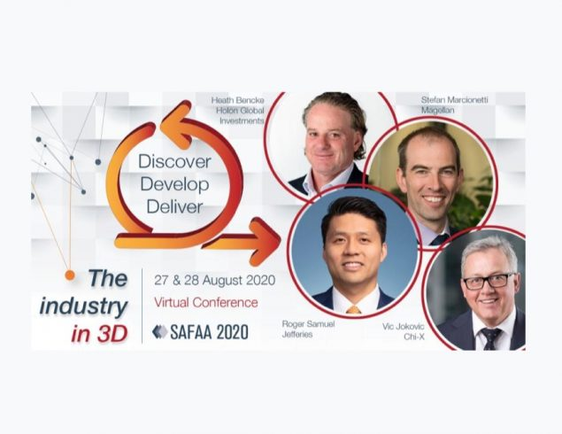 SAFAA 2020 – The industry in 3D – PANEL: The tech story : judging investment