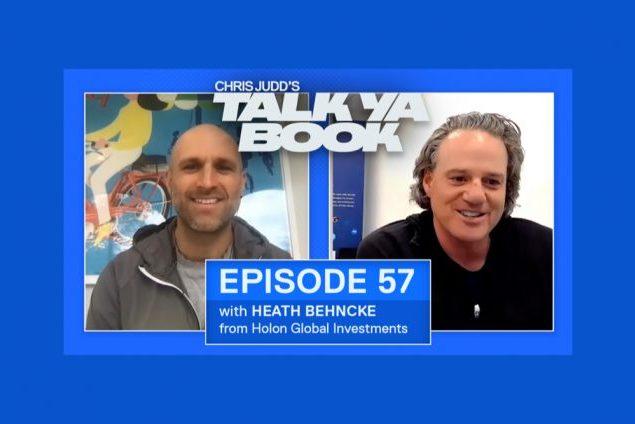 Chris Judd interviews Heath Behncke on Talk Ya Book Podcast