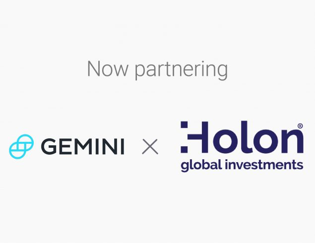 Holon Global partners with Gemini to launch Wholesale Filecoin Fund